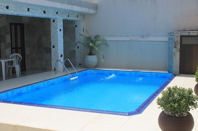 Casa com Piscina Praia Grande