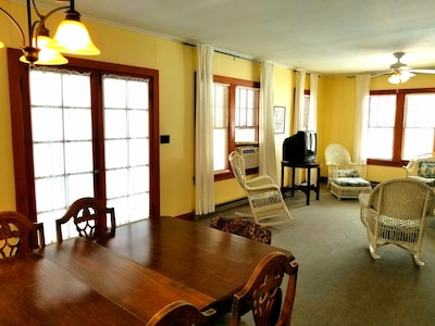 Guest House with full dining room and living room.