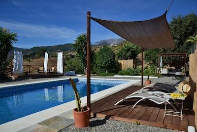 Das afrikanische Haus, andalusischer Kurzurlaub zwischen Malaga und Rond