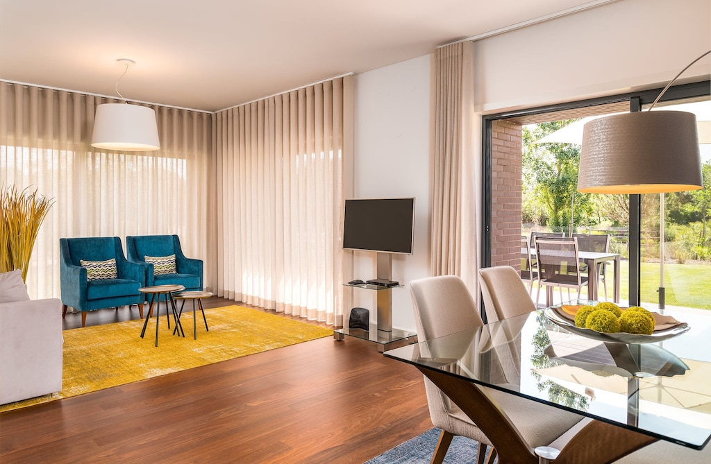 Bright and colorful interior of one of many Portugal apartments for rent