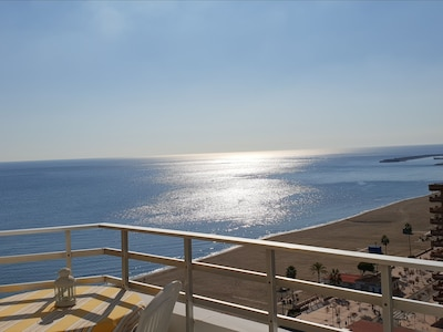 Wakeup to the view from the Balcony