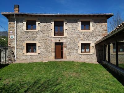 Casa Rural cerca de Alto Campoo (estación de esquí), pantano del Ebro o Reinosa