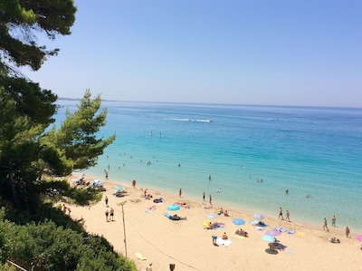 Beautiful Lassi beaches: Makris Gialos, Platis Gialos... Best Kefalonia villas