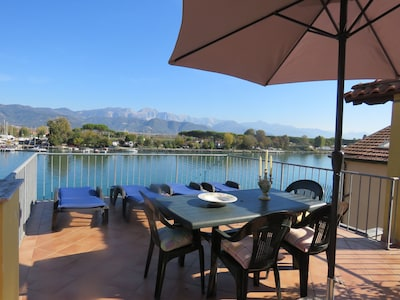 Bocca di Magra-La Ferrara, Ameglia, Ligurie, Italie