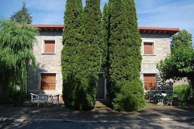 Parque de Aínsa, Aínsa, Aragon, Espagne
