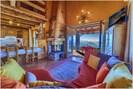 Chalet Monica - living room