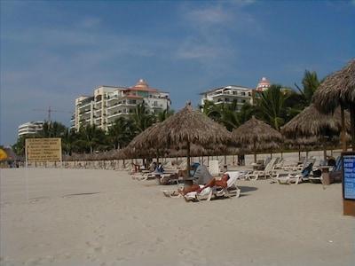 Beach club at Playa Royal