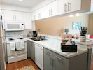 A kitchen that has everything you need to feel at home