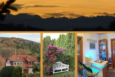 Apartment Alpenblick in Bodenseenähe, 3 SZ