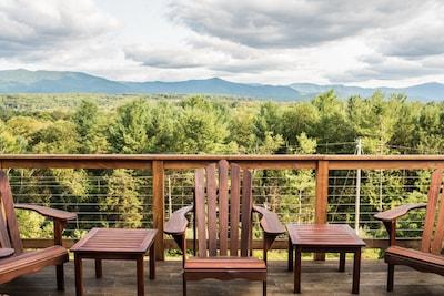 Shenandoah Mountains (Shenandoah National Park) from the deck