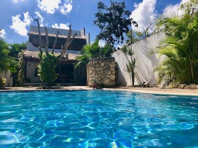 Center-ville de Tulum, Tulum, Quintana Roo, Mexique