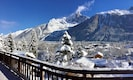 Panoramic View - Marmotte Mountain Eco Lodge - Chamonix