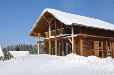 chalet vue hivers