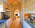 Kitchen is thoughtfully organized and stocked w/ many extras (Nespresso machine)