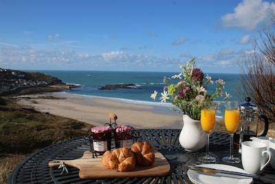 Luxury Cornish Cottage - Amazing Sea Views & Private Path to Sennen Cove Beach