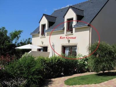 Ker Grenat maison *** avec 2 chambres et jardin privatif