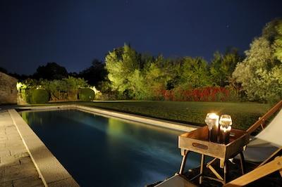 Splendide piscine de 19 mètres de long