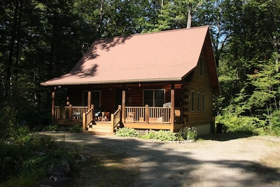 Log Cabin near Moose Pond, Bridgton, ME