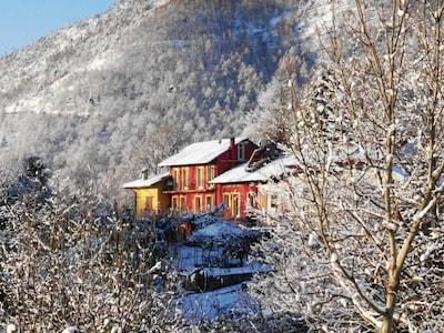 Casalinda im Winter