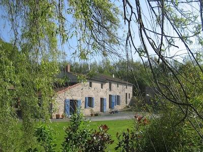 La Plaine, Département Maine-et-Loire, Frankreich