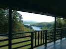View of Lake from Lodge upper deck