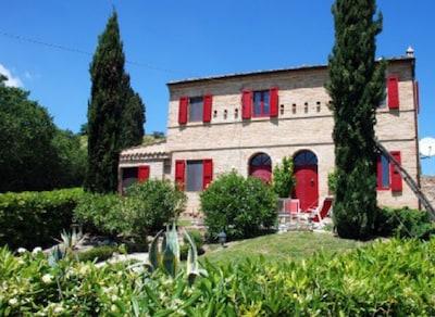 Casa Rossa Garten