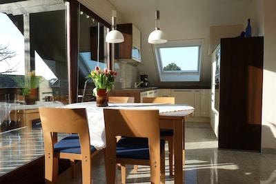 Luxuriöse Wohnungen.