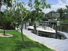 boat dock and lift