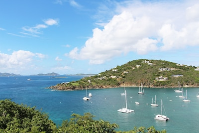 View out to St. Thomas