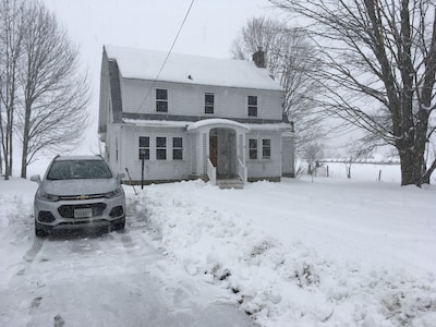 Winter at the Botsford Farmhouse