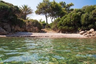 Kalo Nero Beach, Trifylia, Peloponnese, Greece