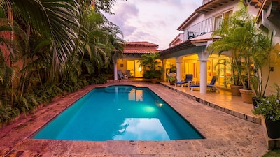 Enjoy an exclusive, private relaxing vacation with your own pool.