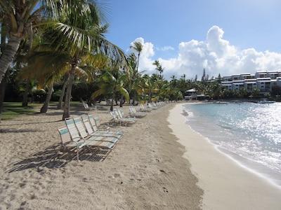 beautiful pristine beach