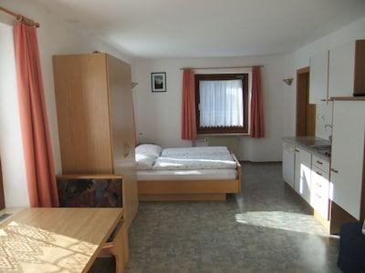 appartamento economico a St. Peter / Tal, 4 km prima di Ortisei