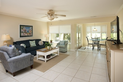 Spacious and bright