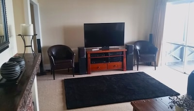 Lounge showing entertainment system