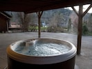 5-person hot tub for year-round relaxation