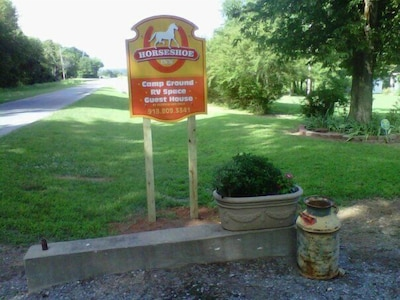 You are here. Welcome to Horseshoe INN and Campground.
