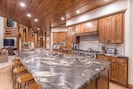 Kitchen Island with seating for 7