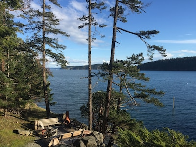 One of many spectacular views from the Quinn Cottage Great Room and main deck