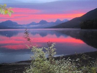 September Sunrise on the Cabin Deck