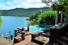 Enjoy swimming in the pool, lake or relaxing in the hot thermals.