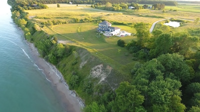 10 Acres to enjoy with 600 ft of natural lakefront property. Unique & Luxurious!