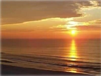 Peaceful, private sunrise & surf. Enjoy it all from your own 6th floor view.