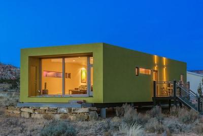 South and East decks at La Luna Desert Retreat