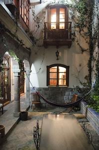 Main inner open air courtyard