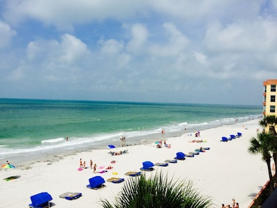 View from our beautiful corner condo balcony!