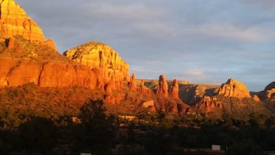 Sedona sunset!
