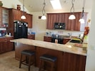 Fully equipped gourmet kitchen for all your cooking needs.