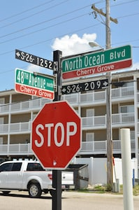 This is the address!  One the corner of two great streets!  Perfect location!